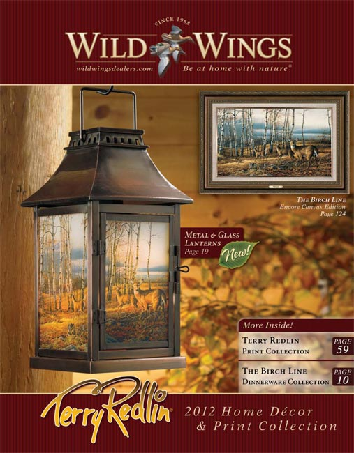 Terry Redlin Wholesale 2012 Home Dcor and Print Catalog