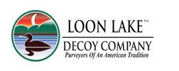 Loon Lake Decoy Company
